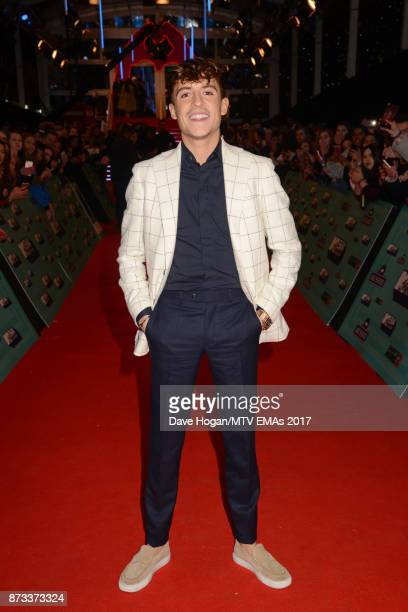 Lil' Kleine attends the MTV EMAs 2017 held at The SSE Arena Wembley on November 12 2017 in London England