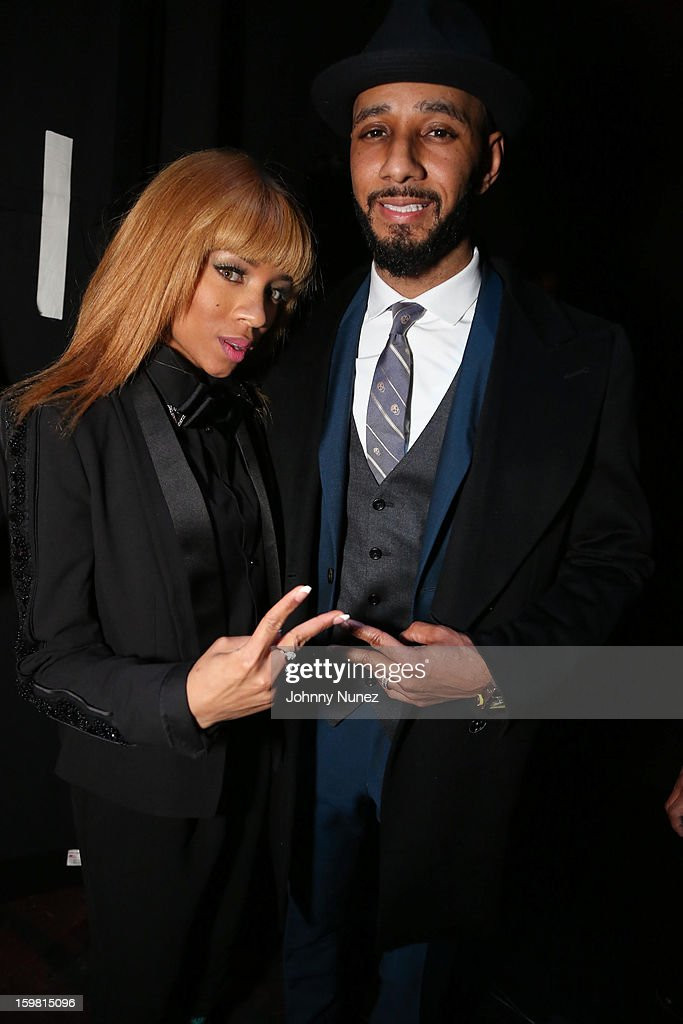 Lil Mama and Swizz Beatz attend The Hip-Hop Inaugural Ball II at Harman Center for the Arts on January 20, 2013 in Washington, DC.