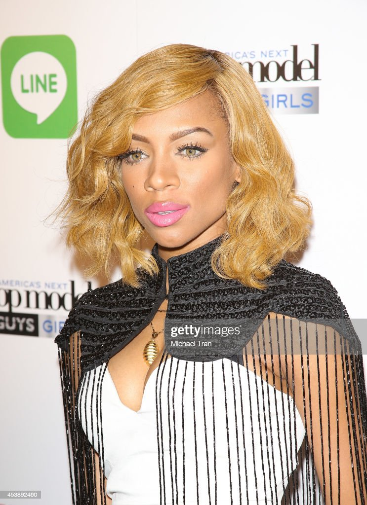 Lil' Mama arrives at America's Next Top Model Cycle 21 premiere party held at SupperClub Los Angeles on August 20 2014 in Los Angeles California