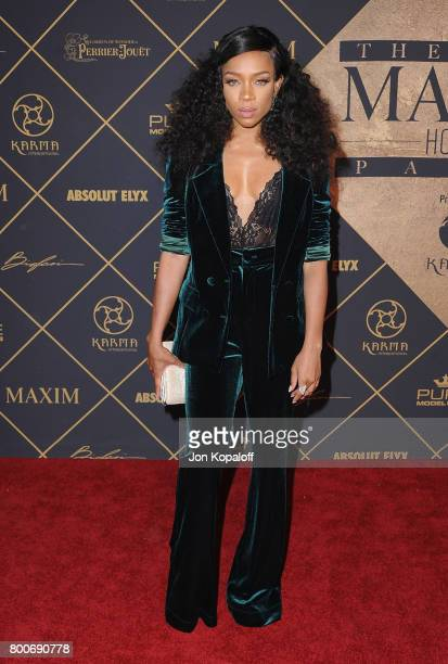 Lil Mama arrives at The 2017 MAXIM Hot 100 Party at Hollywood Palladium on June 24 2017 in Los Angeles California