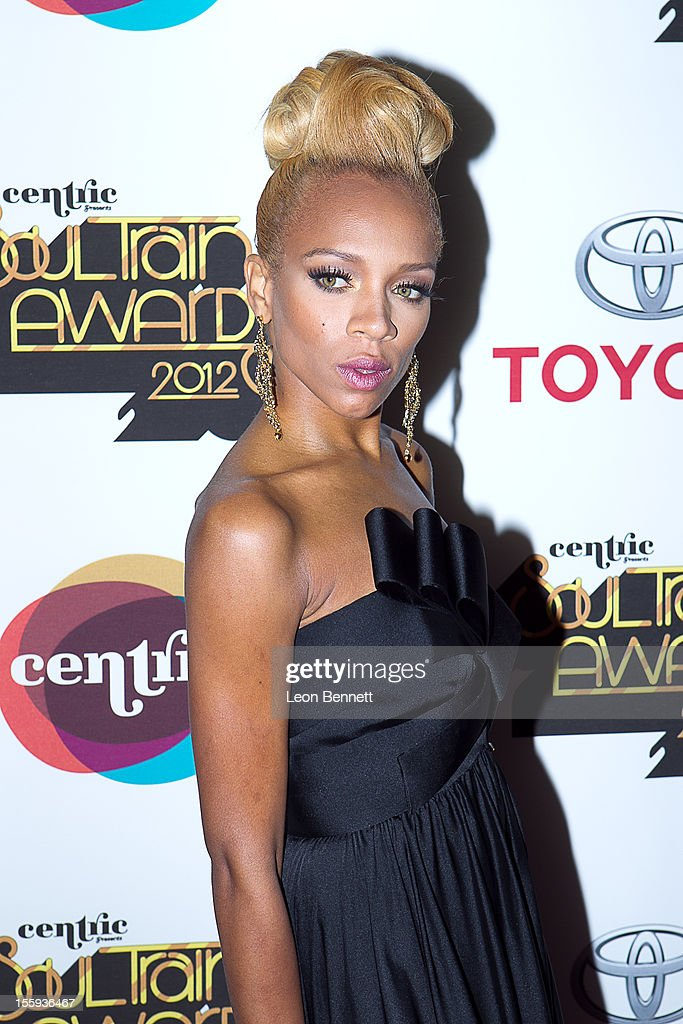 Lil Mama arrives at the Soul Train Awards 2012 - Arrivals at Planet Hollywood Casino Resort at on November 8, 2012 in Las Vegas, Nevada.