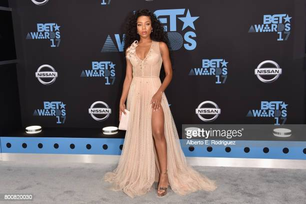 Lil Mama at the 2017 BET Awards at Microsoft Square on June 25 2017 in Los Angeles California