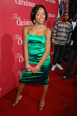 Lil Mama at the 'This Christmas' premiere at the Cinerama Dome on November 12 2007 in Hollywood California