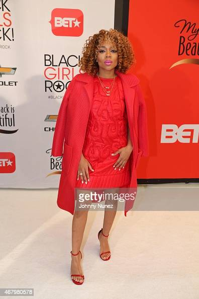 Lil Mama attends Black Girls Rock 2015 at NJ Performing Arts Center on March 28 in Newark New Jersey