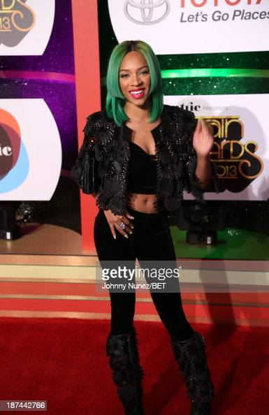Lil Mama attends the 2013 Soul Train Awards on November 8 2013 in Las Vegas Nevada