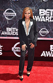 Lil' Mama attends the 2015 BET Awards at the Microsoft Theater on June 28 2015 in Los Angeles California