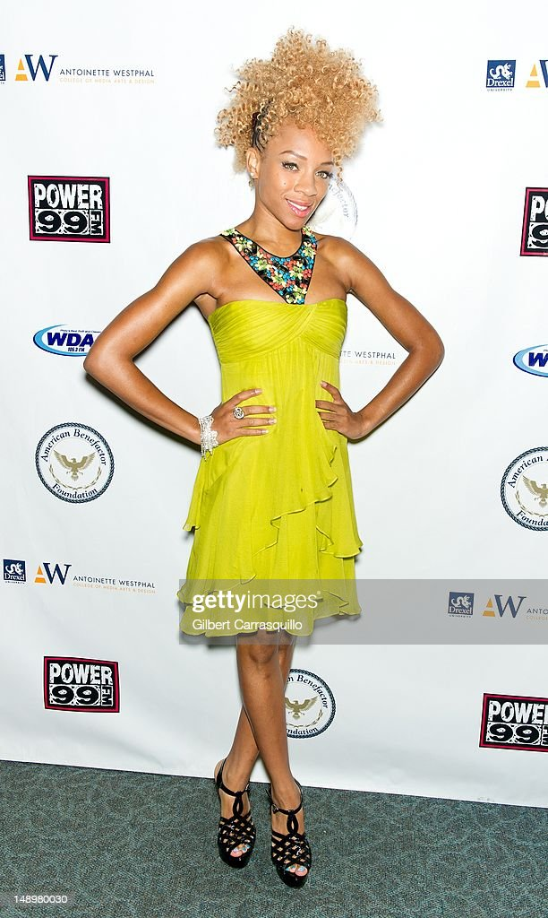 Lil' Mama attends the American Benefactor Foundation 'I WILL Be Great Leaders' Ceremony honoring Charles Alston at Drexel University on July 20, 2012 in Philadelphia, Pennsylvania.