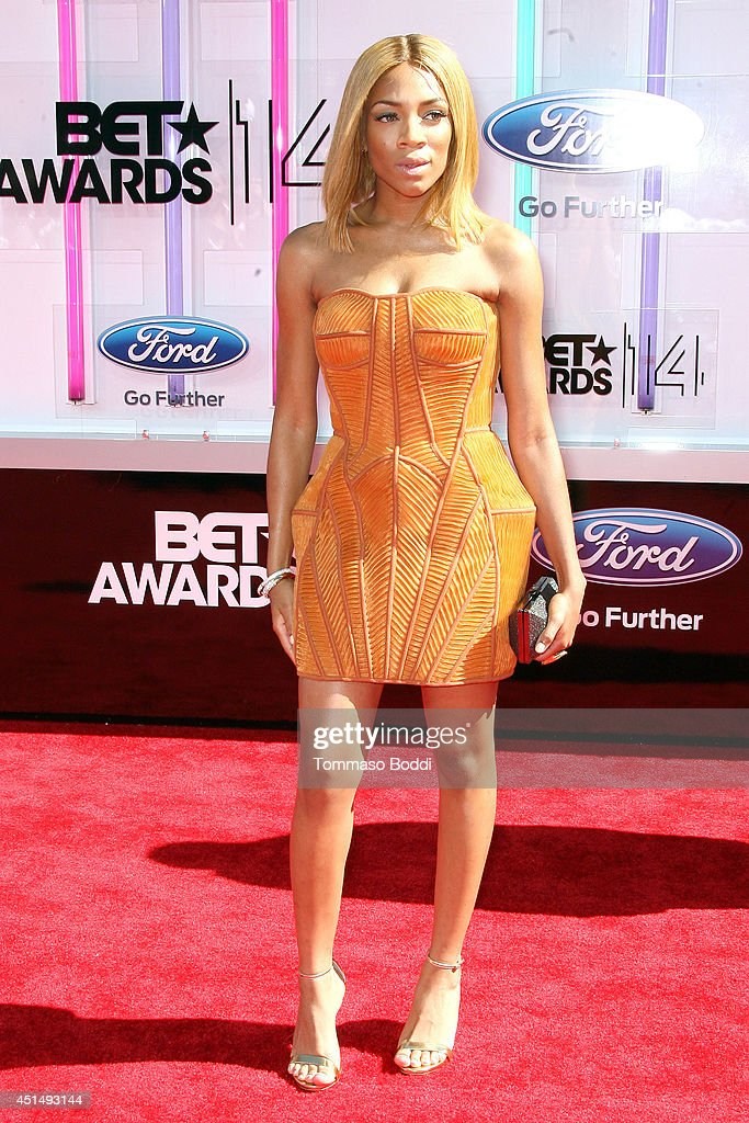 Lil Mama attends the 'BET AWARDS' 14 held at Nokia Theatre L.A. Live on June 29, 2014 in Los Angeles, California.