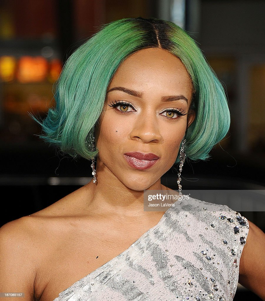 Lil Mama attends the premiere of 'The Best Man Holiday' at TCL Chinese Theatre on November 5, 2013 in Hollywood, California.