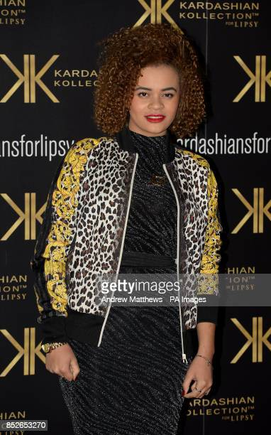 Lil Nikki attending the Kardashian Kollection For Lipsy launch party at the Natural History Museum London