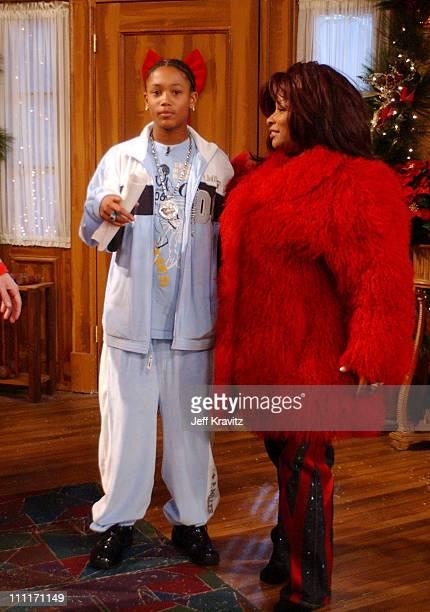 Lil Romeo and Chaka Khan during Nick at Nite Celebrates the Holiday Season with 'The Nick at Nite Holiday Special' Airing on Friday Nov 28 at CBS...