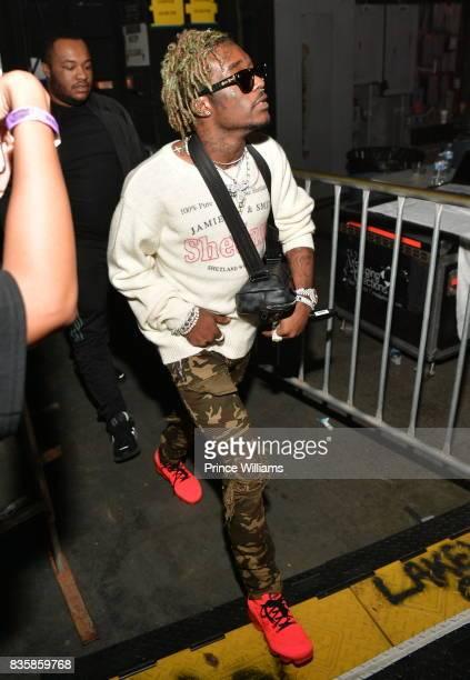 Lil Uzi Vert attends Streetz Fest 2K17 at Lakewood Amphitheatre on August 19 2017 in Atlanta Georgia