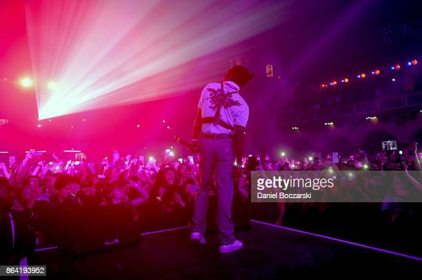 Lil Uzi Vert performs at Spotify's RapCaviar Live in Chicago at Aragon Ballroom on October 20 2017 in Chicago Illinois
