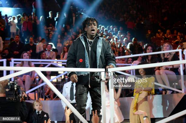 Lil Uzi Vert performs during the 2017 MTV Video Music Awards at The Forum on August 27 2017 in Inglewood California