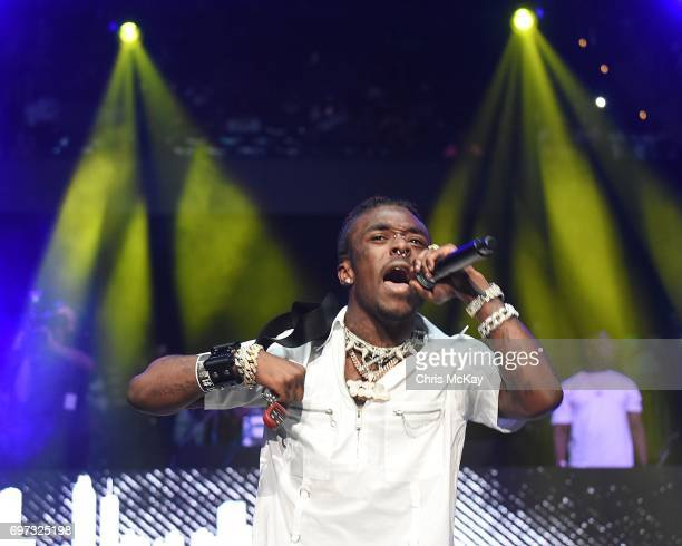Lil Uzi Vert performs during the Hot 1079 Birthday Bash at Philips Arena on June 17 2017 in Atlanta Georgia