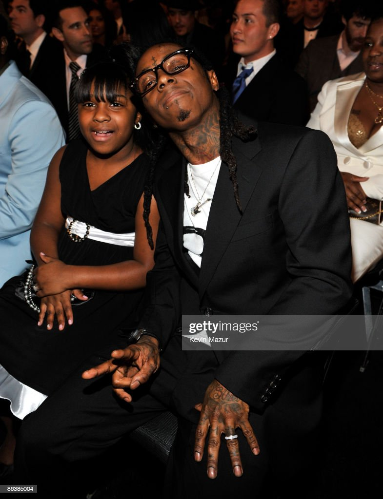 Lil Wayne at the 51st Annual GRAMMY Awards at the Staples Center on February 8, 2009 in Los Angeles, California.