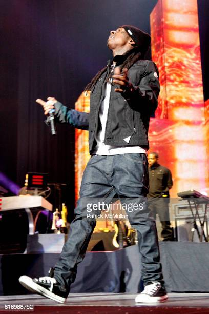 Lil' Wayne attends JAYZ BP3 TOUR 2010 at Madison Square Garden on March 2 2010 in New York City