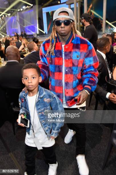 Lil Wayne attends the 2017 NBA Awards Live on TNT on June 26 2017 in New York New York 27111_002
