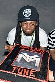 Lil Wayne celebrates his birthday party hosted by MADE and Dusse at Lure Nightclub on September 24 2014 in Hollywood California