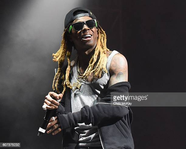 Lil Wayne of ColleGrove performs during the Music Midtown Festival at Piedmont Park on September 17 2016 in Atlanta Georgia