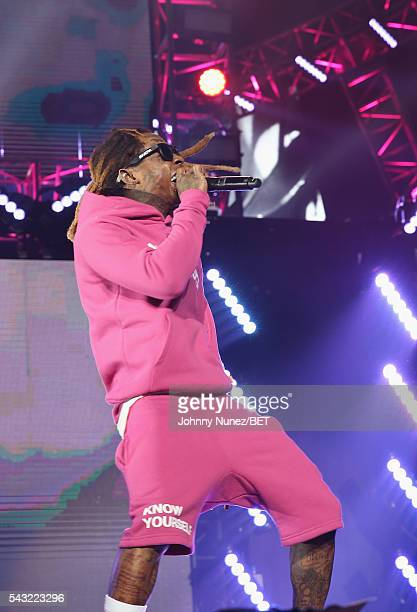 Lil Wayne performs at 2016 BET Experience Staples Center Concert Presented by Sprite Performances by LIL WAYNE 2 CHAINZ TORY LANEZ A$AP FERG FETTY...