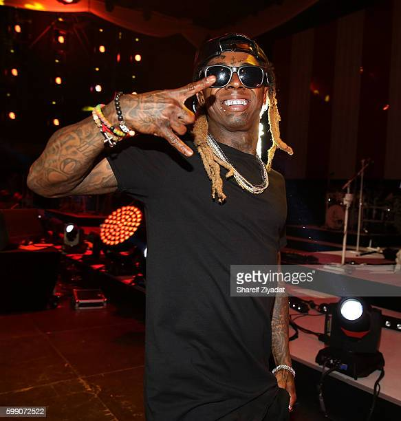 Lil Wayne performs at 2016 Budweiser Made In America Festival Day 1 on September 3 2016 in Philadelphia Pennsylvania