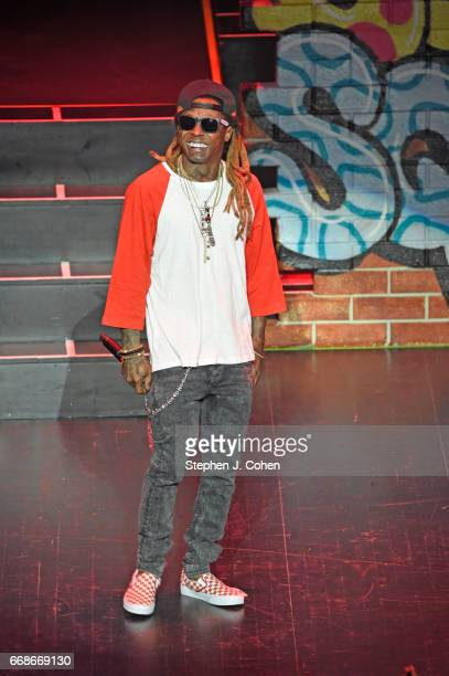 Lil Wayne performs at Louisville Palace on April 14 2017 in Louisville Kentucky
