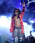 Lil Wayne performs onstage during the 'BET AWARDS' 14 held at Nokia Theater LA LIVE on June 29 2014 in Los Angeles California