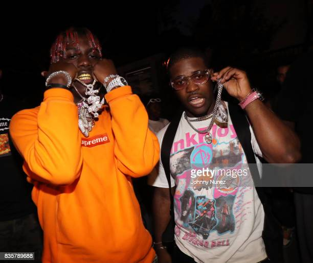 Lil Yachty and A$AP Ferg attend the 'I Am Not Your Negro' And A$AP Ferg Where Stars Are Born' New York Screening on August 19 2017 in New York City