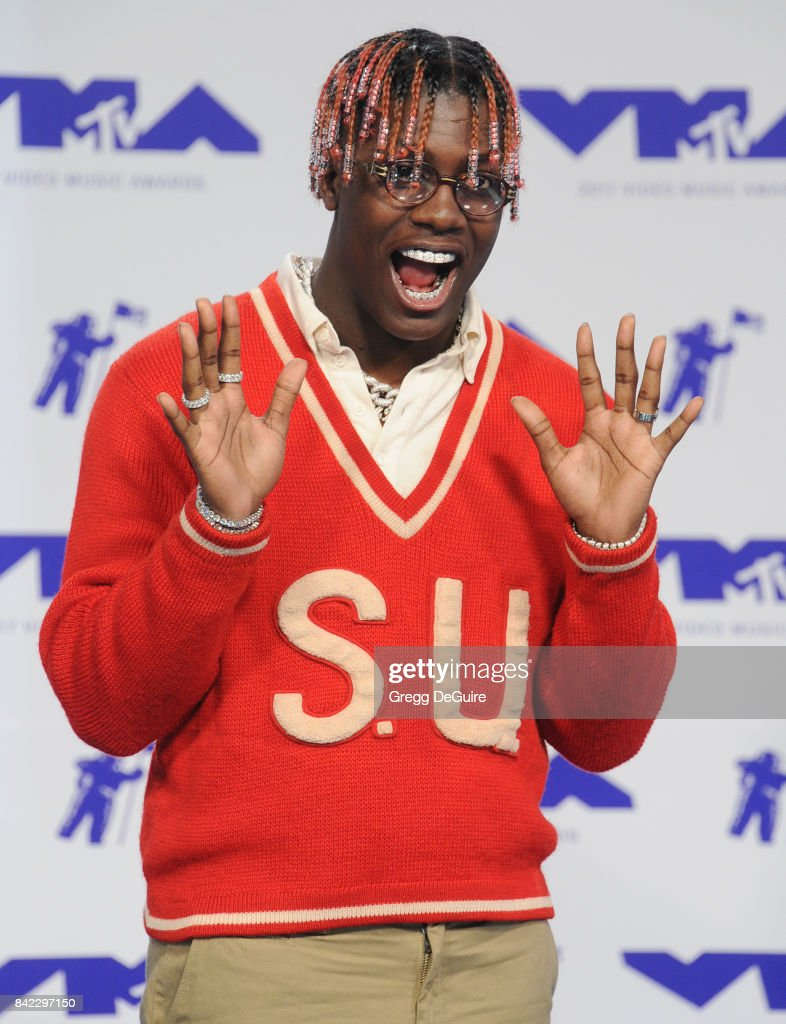 Lil Yachty arrives at the 2017 MTV Video Music Awards at The Forum on August 27, 2017 in Inglewood, California.