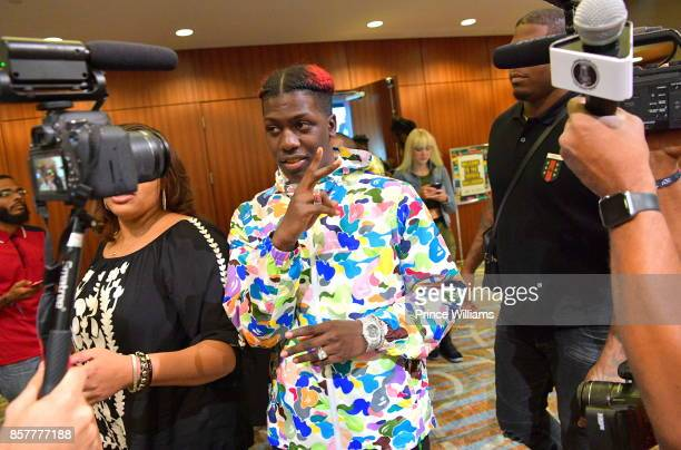 Lil Yachty attends A3C Welcome To Atlanta Reception at the Loudermilk Conference Center on October 4 2017 in Atlanta Georgia