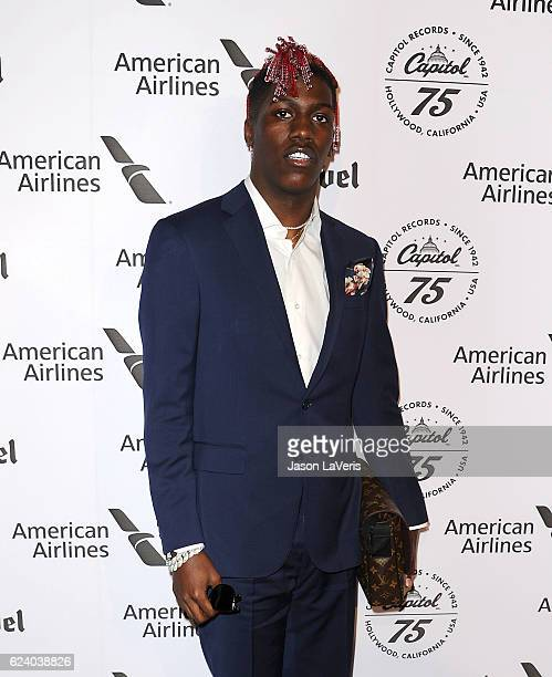 Lil Yachty attends the Capitol Records 75th anniversary gala at Capitol Records Tower on November 15 2016 in Los Angeles California