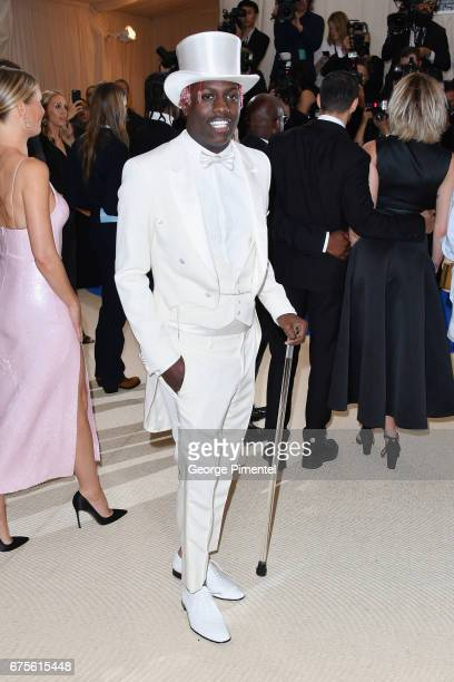 Lil Yachty attends the 'Rei Kawakubo/Comme des Garcons Art Of The InBetween' Costume Institute Gala at Metropolitan Museum of Art on May 1 2017 in...