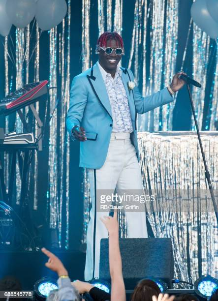 Lil Yachty is seen at 'Jimmy Kimmel Live' on May 25 2017 in Los Angeles California