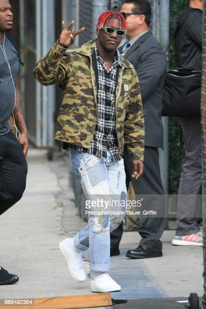 Lil Yachty is seen on May 25 2017 in Los Angeles California