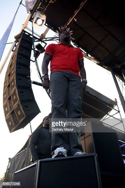 Lil Yachty performs at 2017 Billboard HOT 100 Music Festival at Northwell Health at Jones Beach Theater on August 20 2017 in Wantagh New York