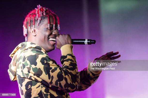 Lil Yachty performs at Broccoli City Festival on Saturday