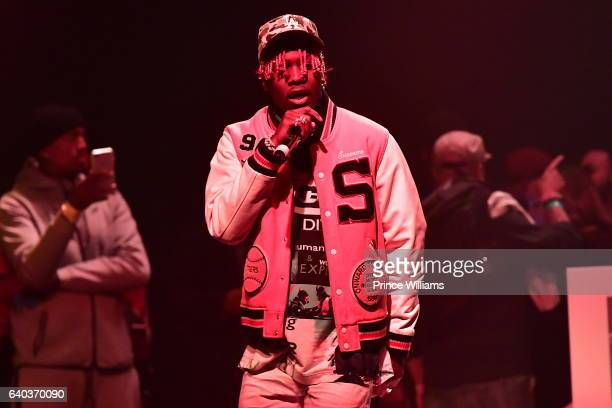 Lil Yachty performs at the Migos In Concert at Center Stage on January 28 2017 in Atlanta Georgia