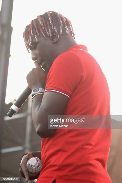 Lil Yachty performs during Day Two of 2017 Billboard Hot 100 Festival at Northwell Health at Jones Beach Theater on August 20 2017 in Wantagh City
