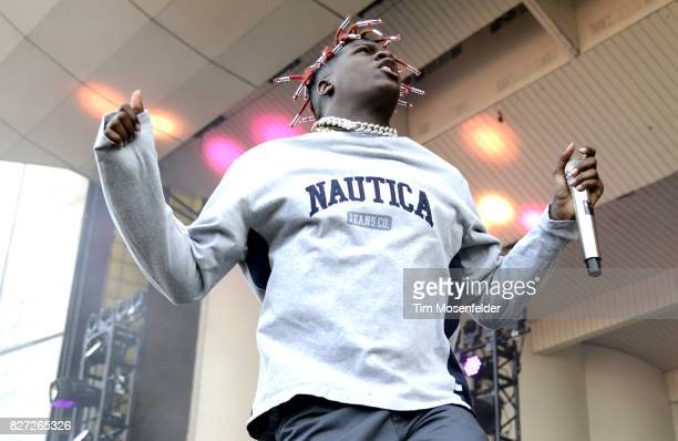 Lil Yachty performs during Lollapalooza 2017 at Grant Park on August 6 2017 in Chicago Illinois