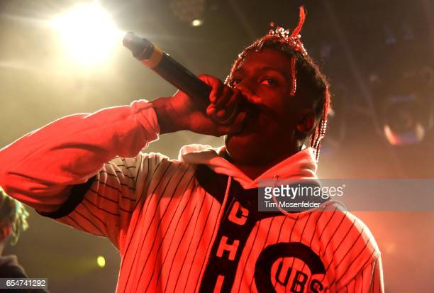 Lil Yachty performs during the YouTube @ SXSW showcase at the Coppertank during the 2017 SXSW Conference And Festivals on March 17 2017 in Austin...