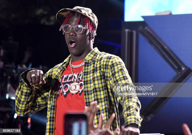 Lil Yachty performs onstage at MTV Woodies LIVE on March 16 2017 in Austin Texas