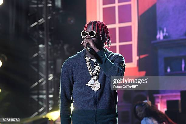 Lil Yachty performs onstage during the 2016 BET Hip Hop Awards at Cobb Energy Performing Arts Center on September 17 2016 in Atlanta Georgia