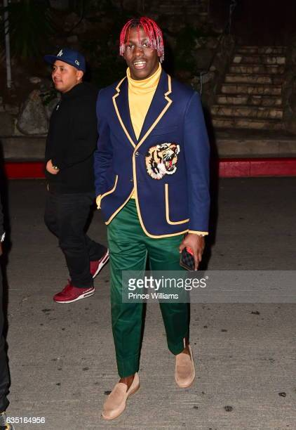 Lil Yachty Seen on February 12 2017 in Los Angeles California