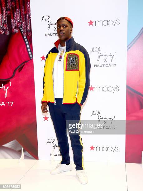 Lil Yachty visits Macy's Herald Square on June 29 2017 in New York City