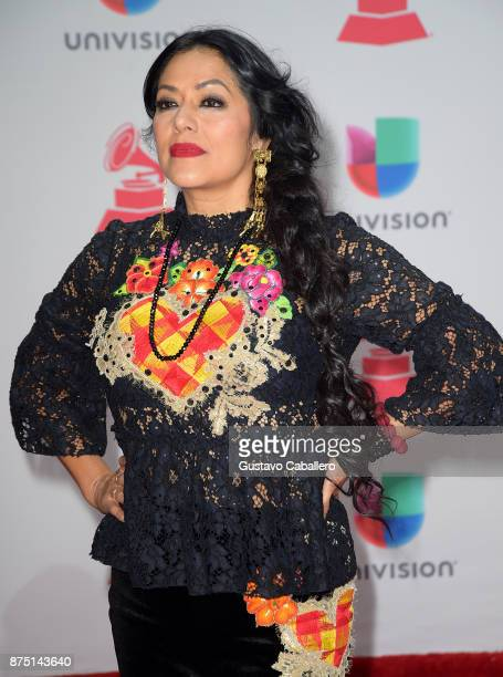 Lila Downs attends the 18th Annual Latin Grammy Awards at MGM Grand Garden Arena on November 16 2017 in Las Vegas Nevada