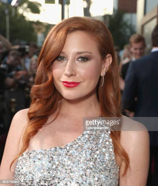 Lila Feinberg at the Amazon Prime Video premiere of the original drama series 'The Last Tycoon' at Harmony Gold Theatre on July 27 2017 in Los...