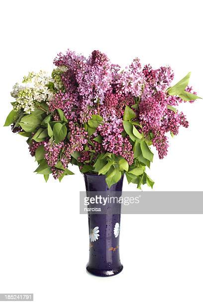 ライラックの花瓶