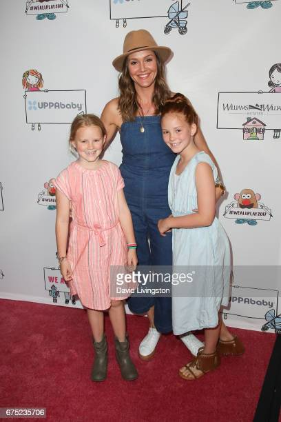 Lilah Hayes Erinn Hayes and Maggie Hayes attend the WE ALL PLAY FUNdraiser hosted by the Zimmer Children's Museum at the Zimmer Children's Museum on...