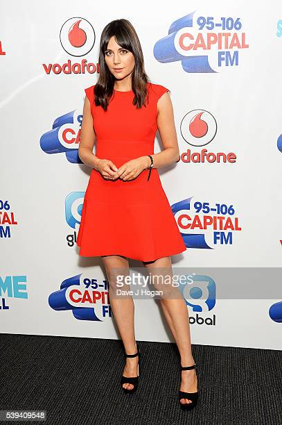 Lilah Parsons arrives for Capital's Summertime Ball at Wembley Stadium on June 11 2016 in London England